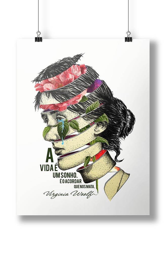 Pôster Virginia Woolf