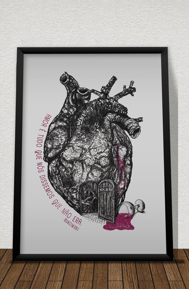 Quadro Amor segundo Bukowski