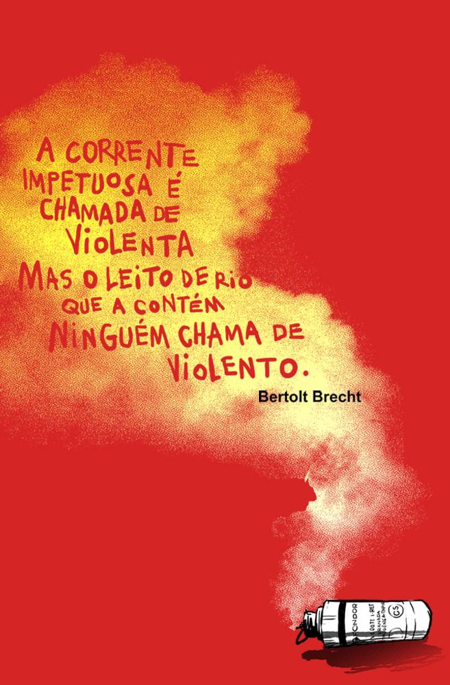 Quadro Bertolt Brecht