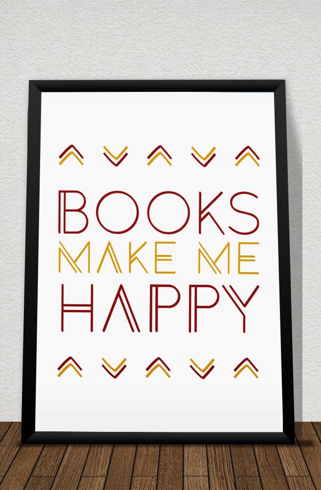 Quadro Books make me happy