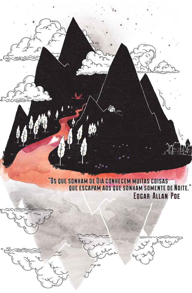Quadro Edgar Allan Poe
