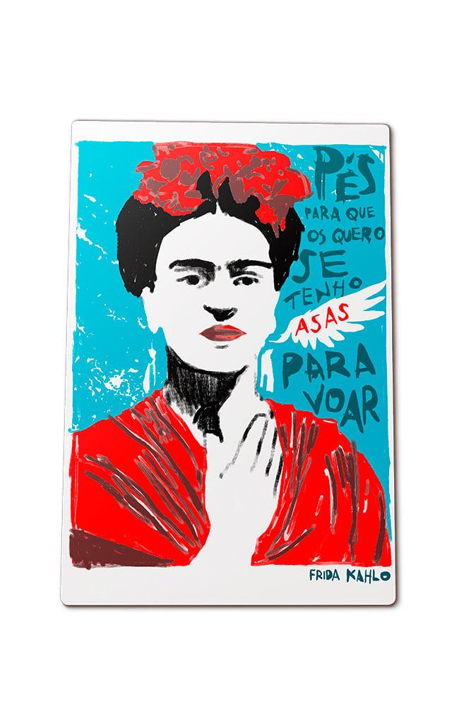 Quadro em MDF Frida Kahlo