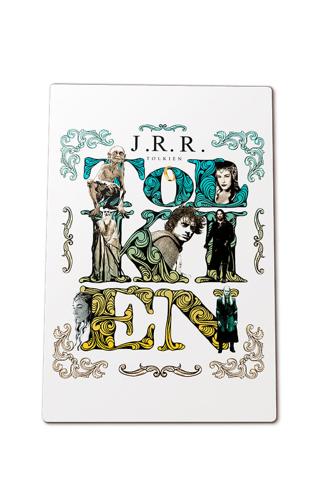 Quadro em MDF Tolkien