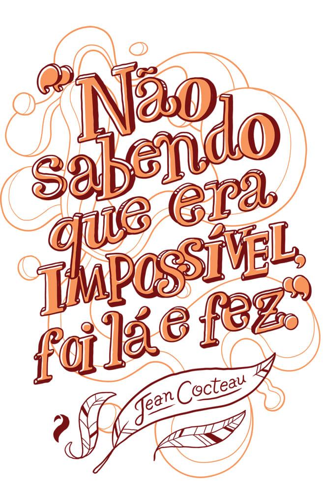 Quadro Jean Cocteau