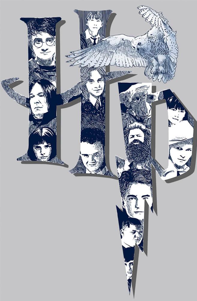 Quadro O Fantástico Harry Potter