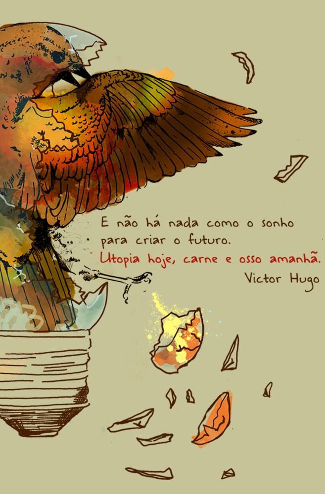 Quadro Victor Hugo
