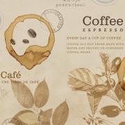 PAPEL DE PAREDE GOURMET VINTAGE COFFEE