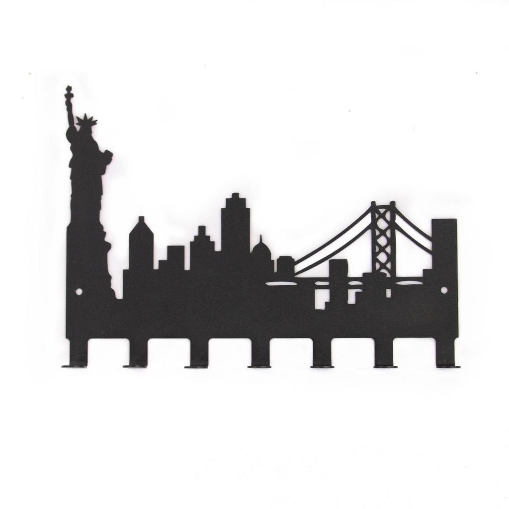 Cabideiro Nova York 7 Ganchos