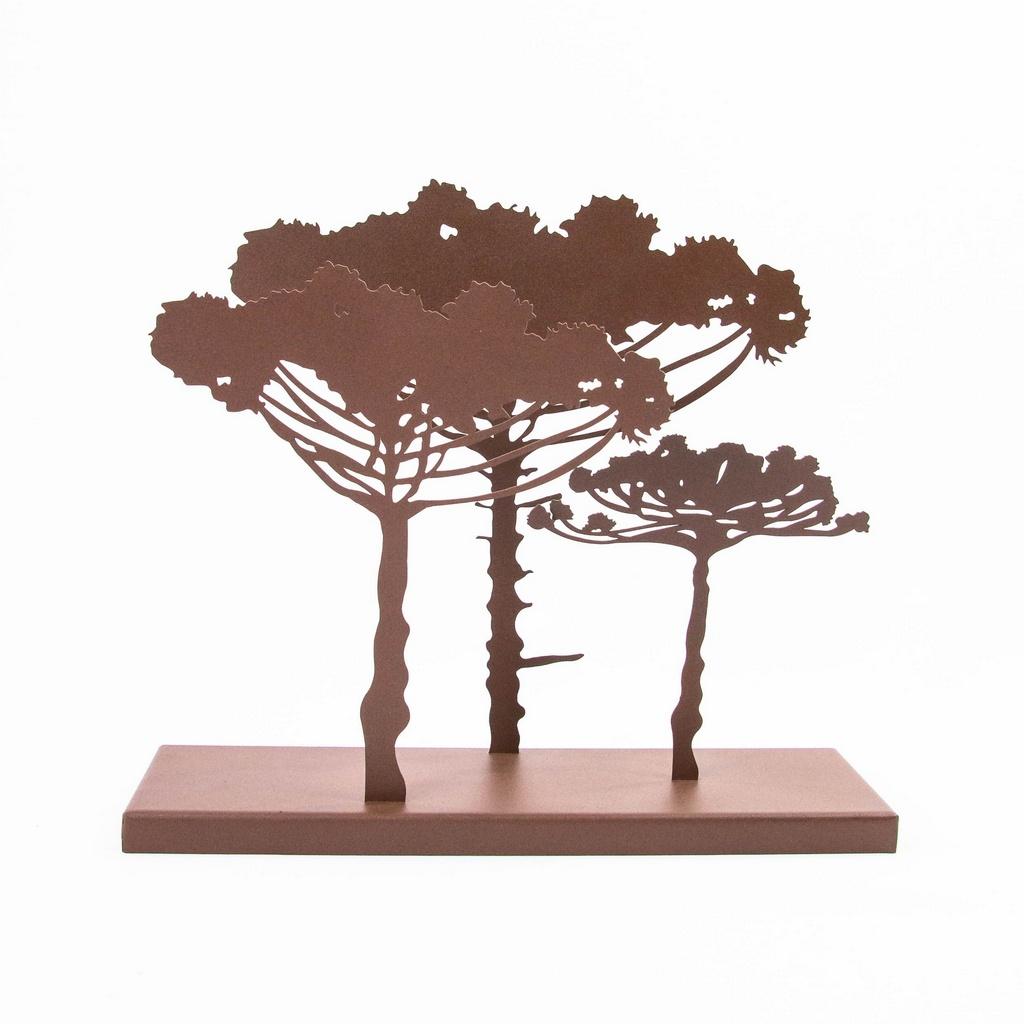 Escultura de Mesa Araucárias