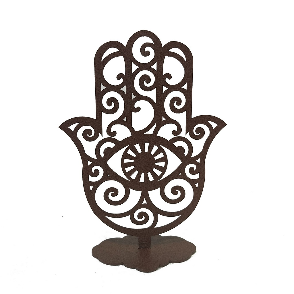 Escultura de Mesa Mão Hansa