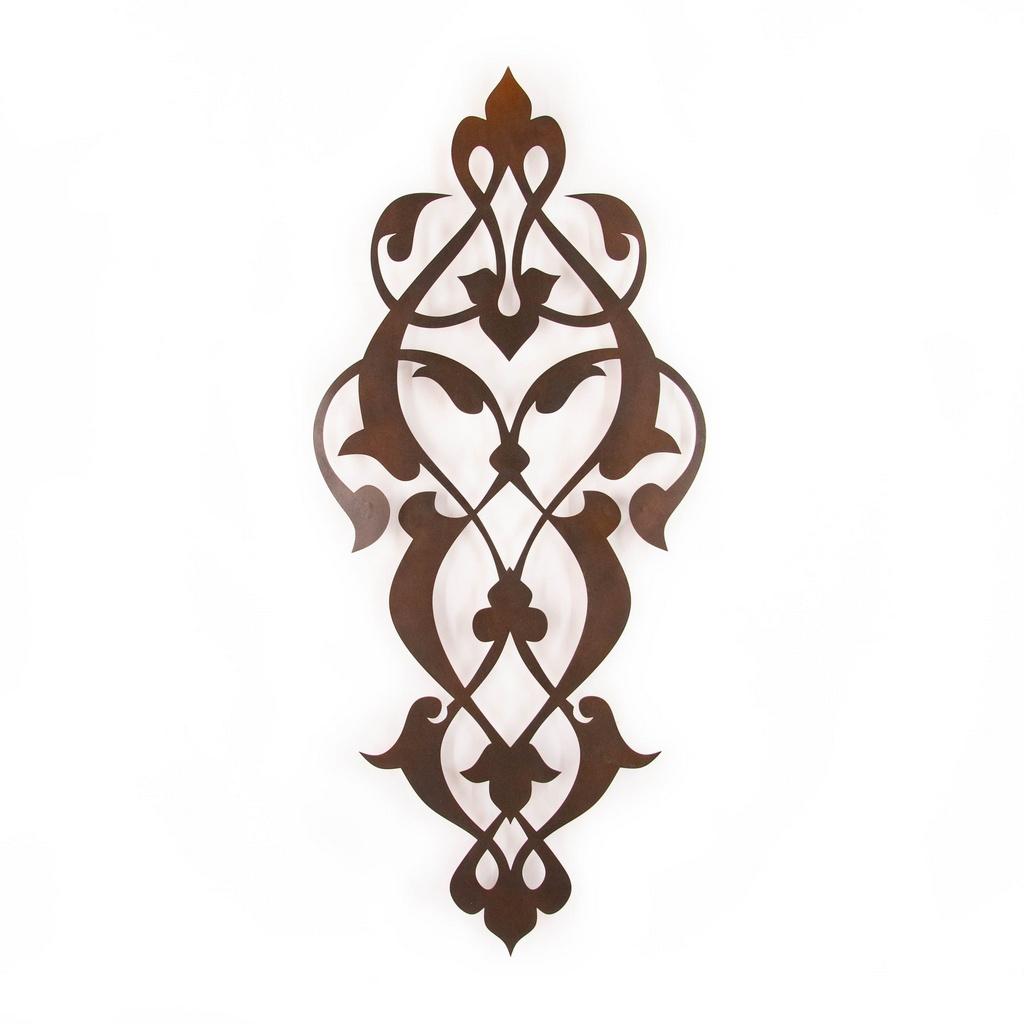 Escultura de Parede Arabesco Medieval Pontas