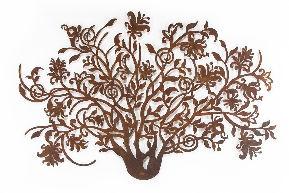 Escultura de Parede Arbusto