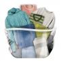 3 Saco a Vácuo Com Cabide Para Roupas Casacos Camisa + Bomba