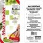 Afiador Amolador De Facas E Tesouras 14x4cm Max Maxximo 059