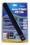 Antena Digital Tv Interna Modelo Régua Dvb-t Slim Sem Cabo