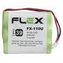 Bateria Telefone Sem Fio 3.6v 600mah 3aa Universal Fx-110u