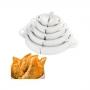 Forma para cortar massa de pastel Kit 5 Tamanhos