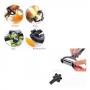 Descasca, Corta e Fatia 3 em 1 Legumes / Frutas Descascador