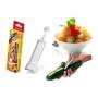 Descascador e boleador de legumes e frutas keita