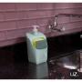 Dispenser Porta Detergente e Esponja UZ Cor Verde Menta