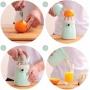 Espremedor de Frutas Laranja Limão Manual de Plástico 300ml