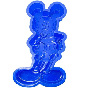 Forma de Silicone do Mickey - Chocolate Gelatina e Pudins