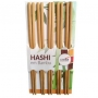 Jogo de Hashi em Bambu kit c/ 10 pares 24 cm - Imporiente
