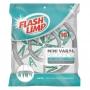 Mini Varal Extensível Flashlimp Com 16 Prendedores Redondo