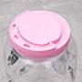 Porta Mantimentos Redondo Dog 3,6l Rosa - Ração