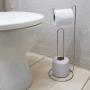 Porta Papel Higiênico Suporte De Chão Banheiro Luxo 331-7