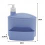 Porta Suporte Dispenser 1 Litro Detergente Esponja Pia - 732 Paramount