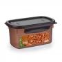 Pote para Feijão com Tampa 850 Ml para Freezer ou Microondas Geladeira Nitronplast
