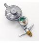 Registro Regulador Válvula Gás Botijão Manômetro 1kg/h