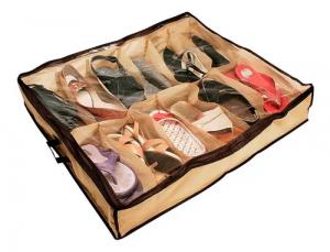 Sapateira Organizadora de Sapatos com Ziper 12 Pares