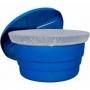 Tela De Proteção Para Caixa D'agua Redonda 500 Litros C/ Elastico