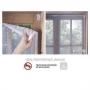 Tela Mosquiteiro com Velcro para Janelas e Portas 100x120cm