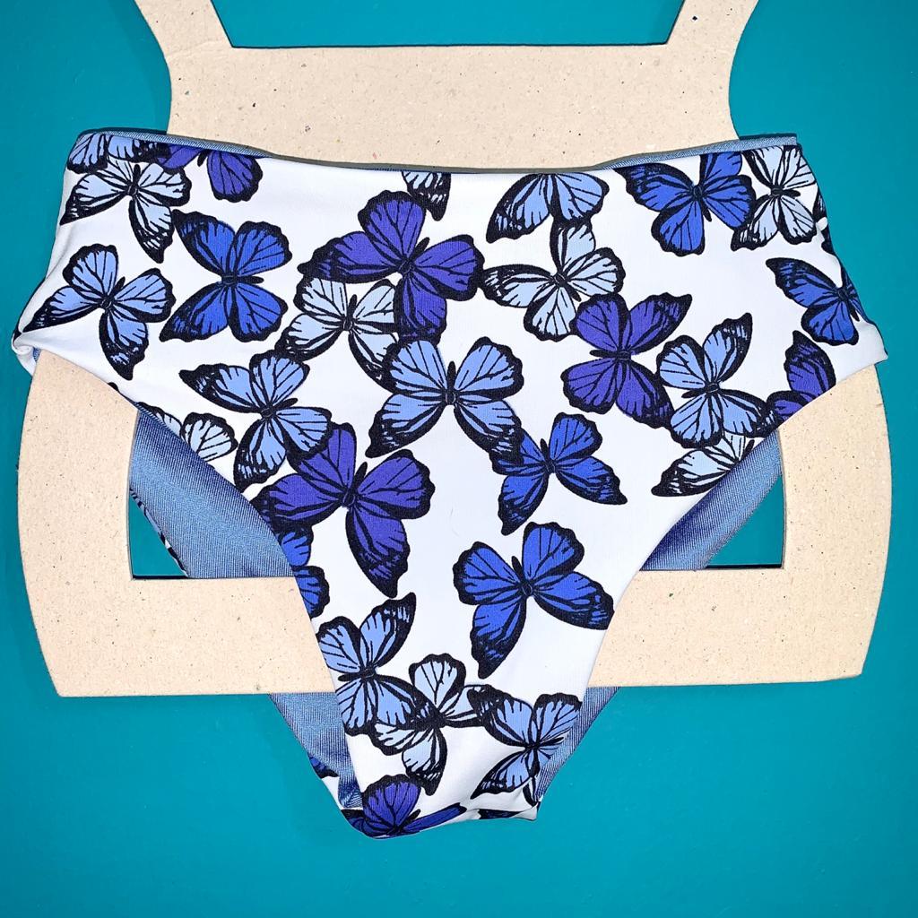 INFANTIL - TANGA HOT PANTS STELLA - Blue Glow e Borbol