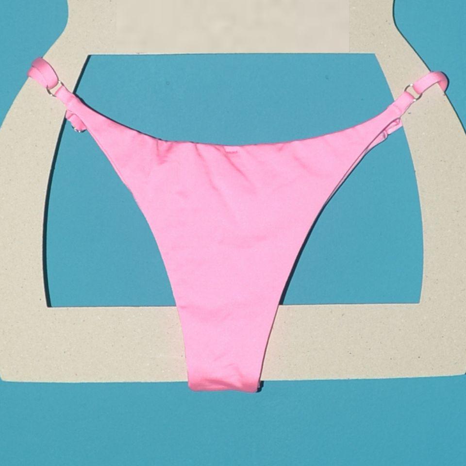 TANGA FIXA COM REGULADOR ERICEIRA - Pink Glow