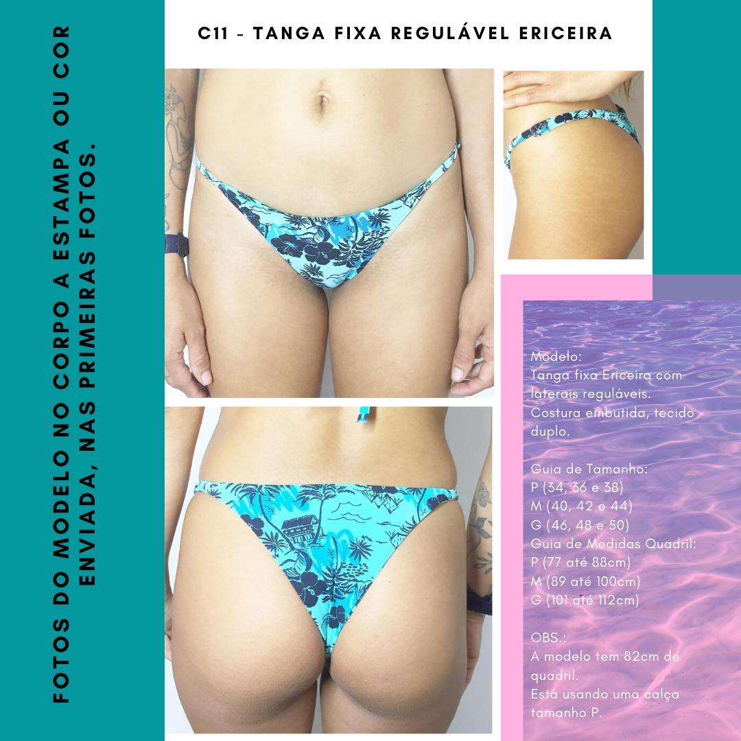 TANGA FIXA COM REGULADOR ERICEIRA - Preto
