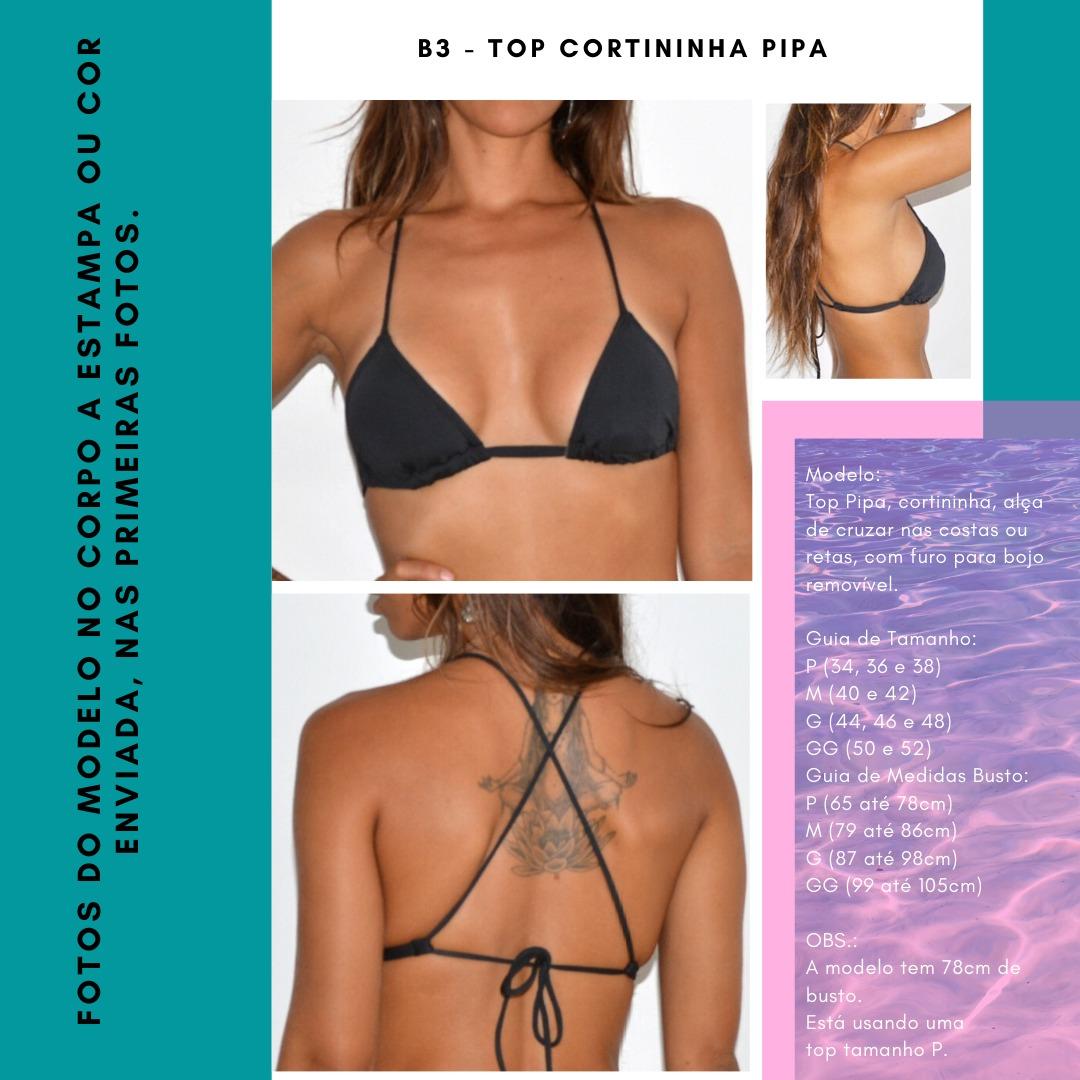 TOP CORTININHA PIPA - Branco