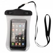 Capa Bolsa Impermeável 2 Travas iPhone Celular iPod Câmera Fotográfica