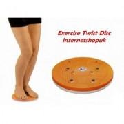 Disco de Exercicios com Placa de Massagem Reflexologica - Frete Grátis