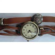 Relógio Feminino Pulseira Trançada - Frete Grátis