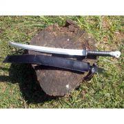 Faca Espada M8 Cabo de Couro - Frete Grátis