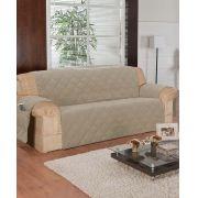 Protetor de Sofa Microfibra com Porta Revistas (3 Lugares)  - Frete Grátis