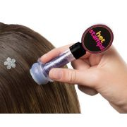 Hot Stamp Hair Carimbo de Gliter para Cabelos - Frete Grátis