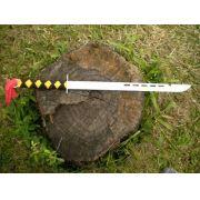 Espada Facão Kung Fu - 54 cm - Frete Grátis