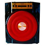 Caixa de Som Recarregável com Bluetooth + Rádio A-21