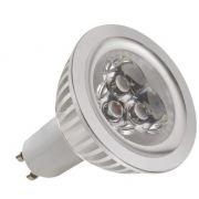 Kit 6 Lâmpadas Dicróica 3 LEDs