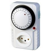 Timer Temporizador Bivolt 96 Programações 24 h 2000w Analógico